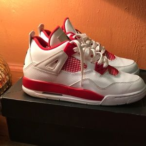 Air Jordan 4 Criados Tamaño 9-5 Mac
